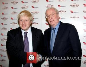 Boris Johnson and Sir Michael Caine  Sir Michael Caine is presented the London's Favourite Londoner award at the 'Visit...