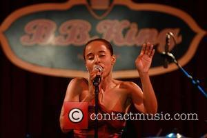 Vivian Green performs at B.B. King Blues Club New York City, USA - 22.01.09