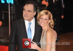 Oliver Stone and Elizabeth Banks UK Premiere of 'W.' held at the Odeon Leicester Square - Arrivals London, England -...