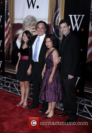 Oliver Stone and Family