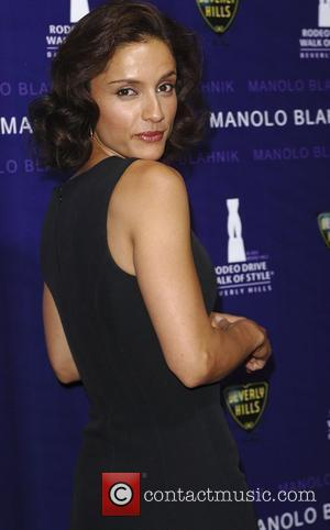 Leonor Varela  The Rodeo Drive Walk Of Style award in honour of Manolo Blahnik - Arrivals Beverly Hills, California...
