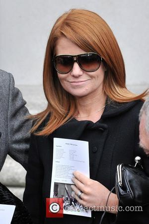 Patsy Palmer The Funeral of Wendy Richard held at St Mary's Church Marylebone London, England - 09.03.09