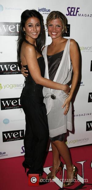 Emmanuelle Chriqui and Sabine Singh