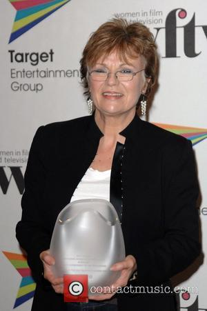 Julie Walters with her award for Lifetime Achievement Target Women in Film and Television Awards at the Hilton Hotel London,...