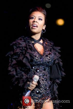 Keyshia Cole performing live on stage at the WGCI Big Jam 2008 at United Center. Chicago, Illinois, USA - 27.12.08