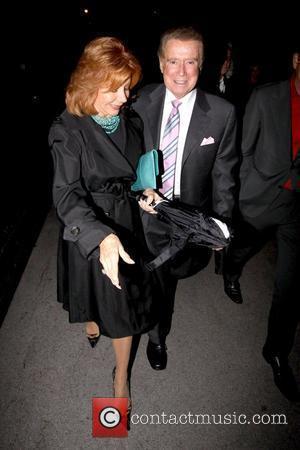 Joy Philbin and Regis Philbin