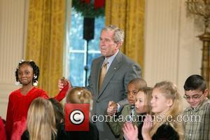 George W Bush and White House