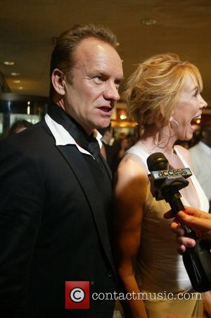 Sting and Trudie Styler Capitol File host the White House Correspondents Dinner - Arrivals held at the Washington Hilton Hotel...