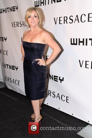 Jane Krakowski and Versace
