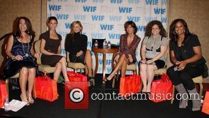 Hilary Aitken, Karina Smirnoff and Samantha Harris