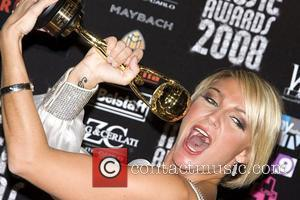 Kate Ryan World Music Awards 2008 at the Monte Carlo Sporting Club - Press Room Monte Carlo, Monaco - 09.11.08