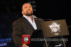 Triple H  WrestleMania 25th anniversary press conference at the Hard Rock Cafe  New York City, USA - 31.03.09