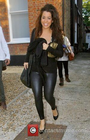 Ruth Lorenzo leaving the 'X Factor' house to go to rehearsals London, England - 17.10.08
