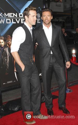 Ryan Reynolds and Hugh Jackman X-Men Origins: Wolverine screening at the Grauman's Chinese Theater Los Angeles, California - 28.04.09