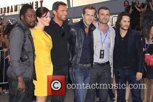 Will.i.am, Hugh Jackman, Lynn Collins, Ryan Reynolds and X-men