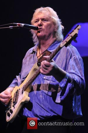 Chris Squire of the band Yes  performs at Hard Rock Live within the Seminole Hard Rock Hotel and Casino...