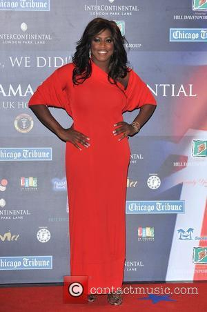 Mica Paris 'Yes We Did!' Obama London Inauguration Party held at the Intercontinental Hotel Park Lane - Arrivals London, England...