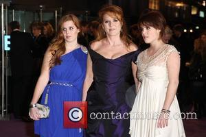 Sarah Ferguson, Odeon Leicester Square and The Young Vic