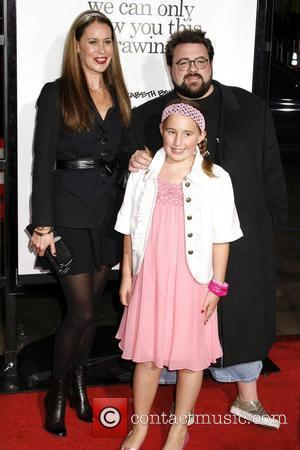 Kevin Smith and Family Los Angeles Premiere of 'Zack and Miri Make A Porno' held at Grauman's Chinese Theater Hollywood,...