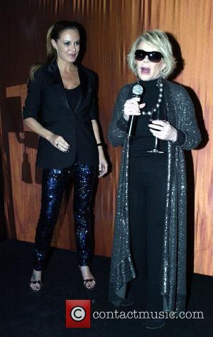 Charlotte Dawson, Joan Rivers The 2009 Mardi Gras VIP party at the Zeta Bar at the Hilton Hotel Sydney, Australia...