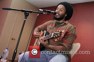 Ziggy Marley performs at the CD release party for his new album 'Family Time' at Pure Yoga New York City,...