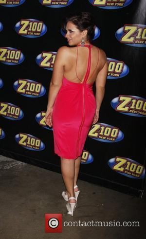 Carolina Bermudez Z-100's Zootopia 2009 concert - Arrivals at the Izod Centre in East Rutherford New Jersey, USA - 16.05.09