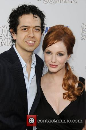 Geoffrey Arend and Christina Hendricks Premiere of '500 Days Of Summer' held at the Egyptian Theater  Los Angeles, California...
