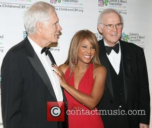 Ted Turner, Toni Braxton and Charles Grodin attend the Children's Cancer & Blood Foundation Breakthrough Ball, at the Plaza Hotel...