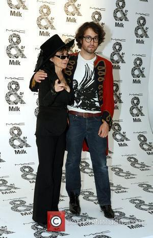 Yoko Ono and Sean Lennon