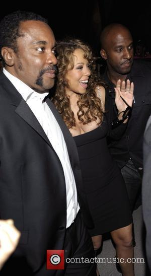 Director Lee Daniels and Mariah Carey