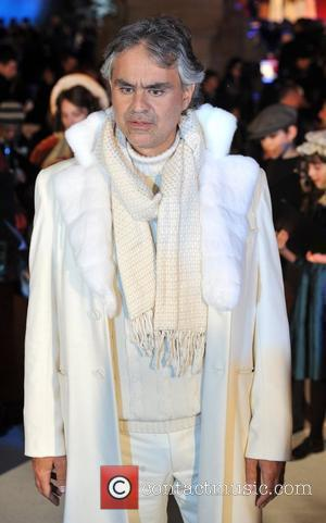 Andrea Bocelli 'A Christmas Carol' - World premiere at Leicester Square - Arrivals London, England - 3.11.09
