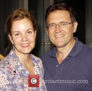 Margaret Colin and Victor Slezak