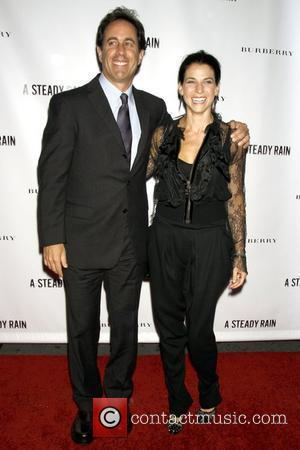 Jerry Seinfeld and Jessica Seinfeld Opening night of 'A Steady Rain' on Broadway at Gerald Schoenfeld Theatre - Arrivals New...