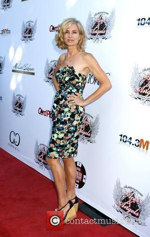 Eileen Davidson Aces and Angels Celebrity Poker held at the Playboy Mansion - Arrivals Los Angeles, California - 11.07.09