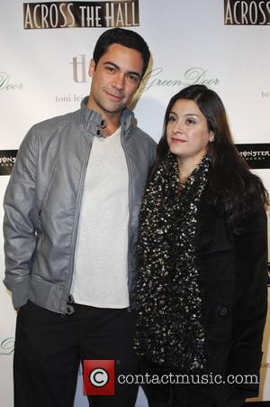 Danny Pino and wife Lily Across the Hall premiere Los Angeles, California - 01.12.09