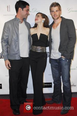 Mike Vogel, Alex Merkin and Brittany Murphy