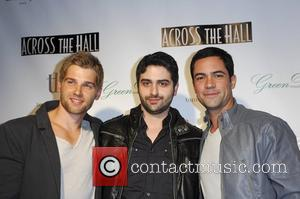 Mike Vogel, Alex Merkin and Danny Pino