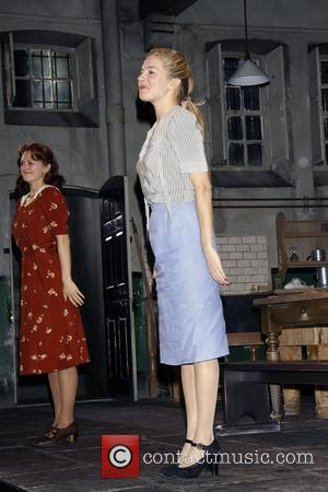 Marin Ireland, Sienna Miller Opening night curtain call for the Broadway play 'After Miss Julie' at the American Airlines Theatre...