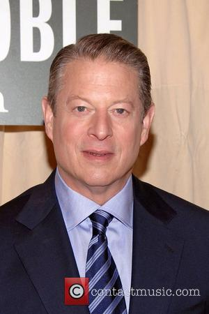 Al Gore  signs copies of his new book 'Our Choice: A Plan to Solve the Climate Crisis' at Barnes...