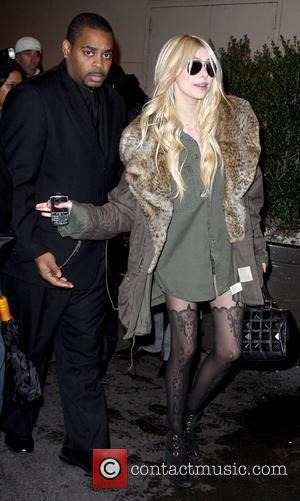 Taylor Momsen outside MTV studios after an appearance on 'It's On with Alexa Chung' New York City, USA - 30.11.09