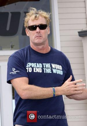 John C. McGinley 'Spread the word to end the word' for the special Olympics held at Boys and Girls club...