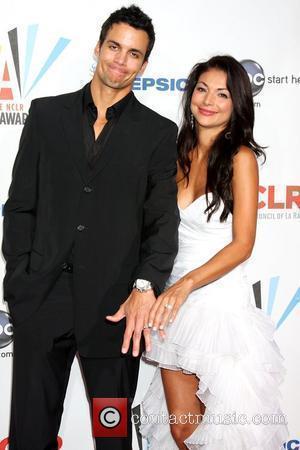 Matt Cedeno and Erica Franco