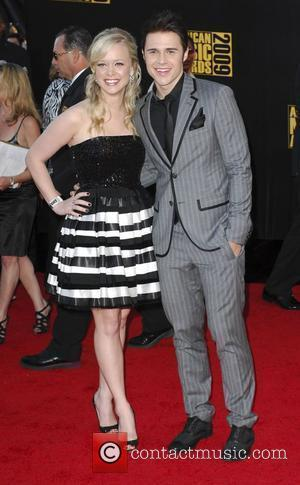 Kris Allen and guest 2009 American Music Awards - Arrivals held at the Nokia Theatre L.A. Live Los Angeles, California...
