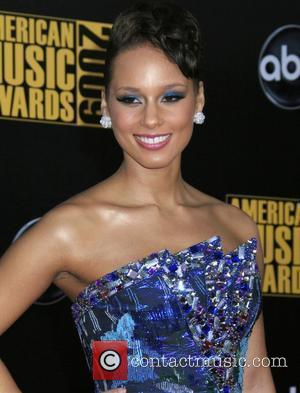 Alicia Keys 2009 American Music Awards - Arrivals held at the Nokia Theatre L.A. Live Los Angeles, California - 22.11.09
