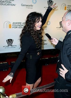 Marie Osmond and Andre Agassi
