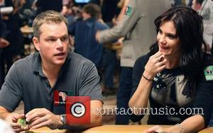 Matt Damon and Tiffany Michelle