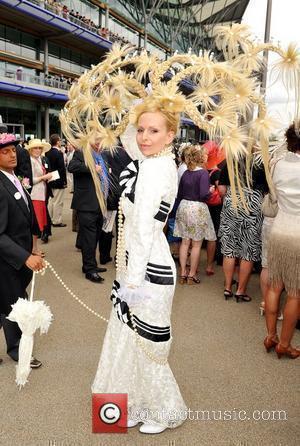 Anneka Svenska Royal Ascot, Ladies Day Ascot, England - 18.06.09