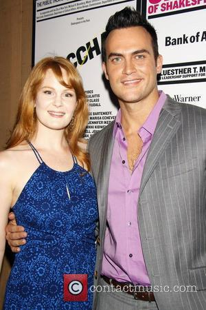 Kate Baldwin and Cheyenne Jackson from the upcoming Broadway musical Finian's Rainbow Opening Night of 'The Bacchae' at the Delacorte...
