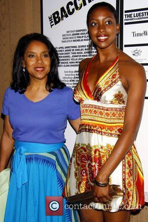 Phylicia Rashad and her daughter Condola Phyleia Rashad Opening Night of 'The Bacchae' at the Delacorte Theater in Central Park...