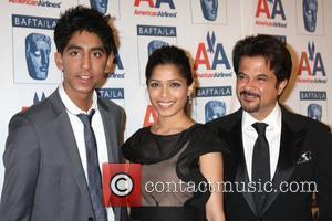 Dev Patel, Freida Pinto and Anil Kapoor